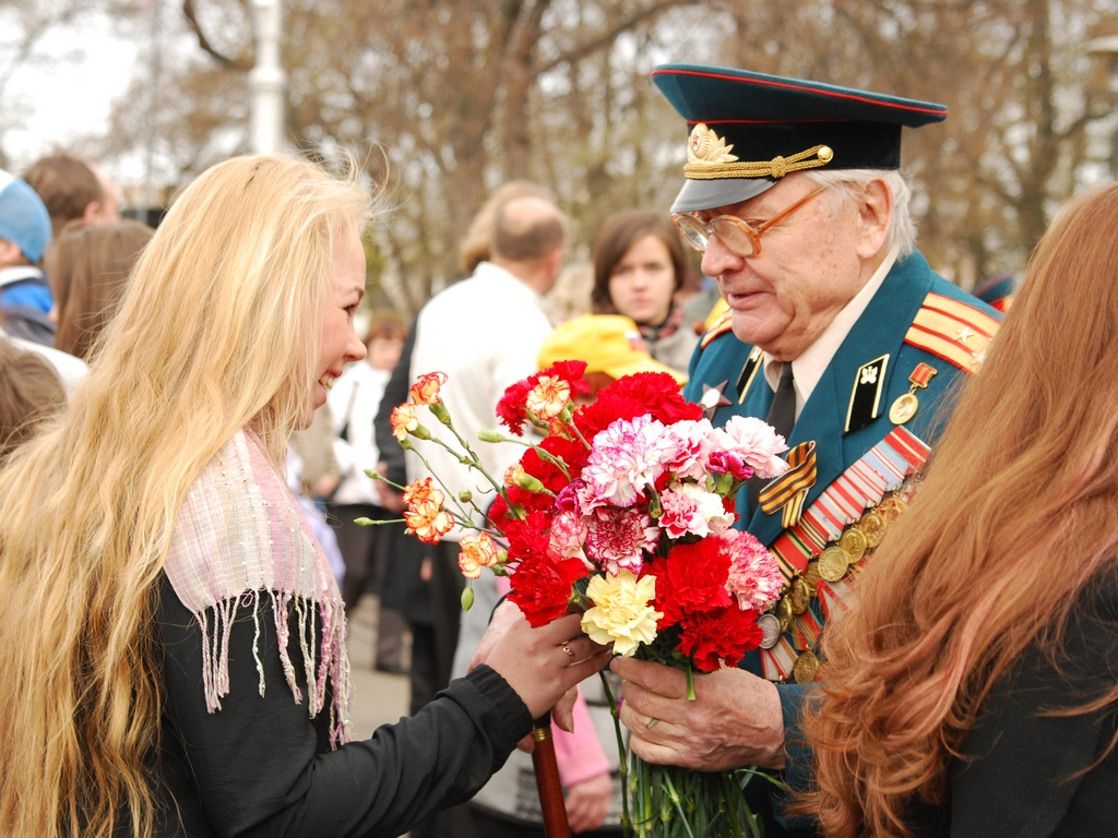Фото поздравление ветерана
